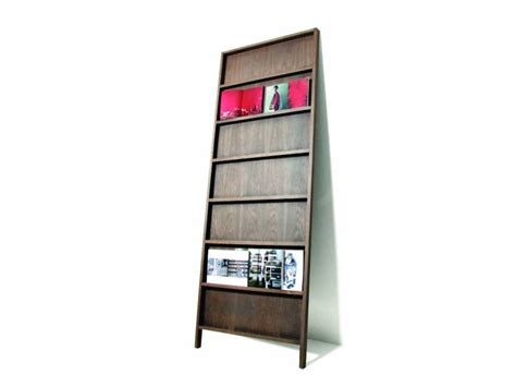 wall mounted wooden bookcase oblique by moooi 169 design