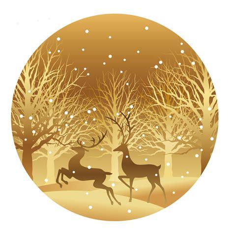 christmas  illustration  forest  reindeer   vectors clipart graphics