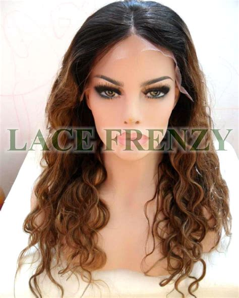 The Wig Mall Wigs Human Hair Lace Front Wigs Full Lace | irena 20 inches indian remy hair two toned body wave