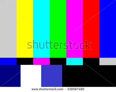 test pattern tv tv test pattern stock images royalty free images
