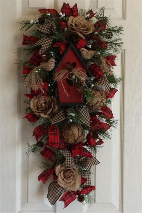 christmas door swag ideas 27065 best images on ideas crafts and time