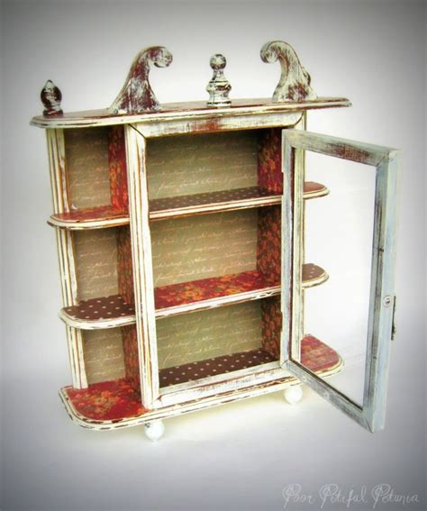 Upcycled Curio Cabinet 202 Best Images About Jewelry Box Refashioned On Pinterest Vintage Jewelry Boxes Jewelry Box