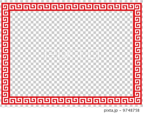 chinese pattern frame vector chinese pattern vector vectors stock illustration