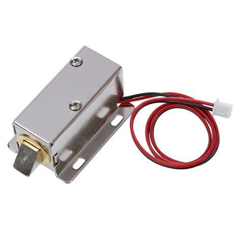 Kr04037 Locking Solenoid 6 12volt Dc 0837l dc 12v 8w open frame type solenoid for electric door lock p7q2 ebay