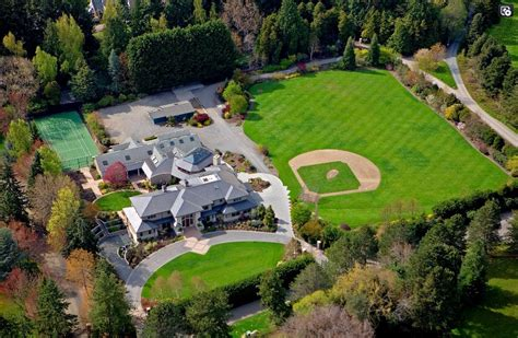 Backyard Basketball Court Price 7 95 Million Entertainer S Estate In Woodway Wa Homes