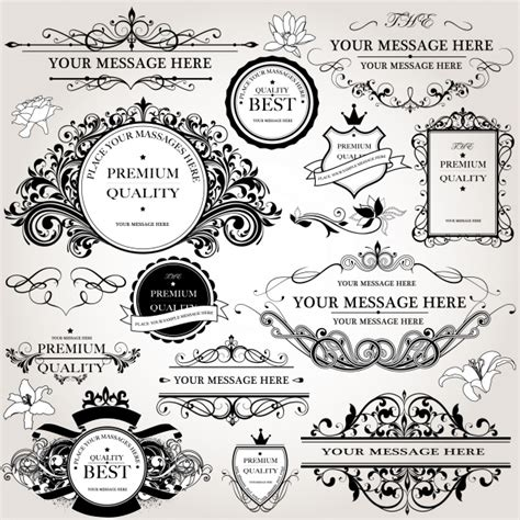 the images collection of vector round label victorian round vintage victorian vectors photos and psd files free download
