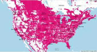 at t canada coverage map t mobile vs sprint best unlimited data available out