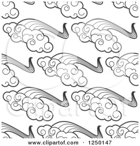 pattern of small white clouds crossword clipart leaf and rainbow landscape logo royalty free