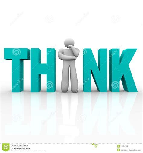 Men Floor Plan Think Man In Word Stock Photography Image 14634742