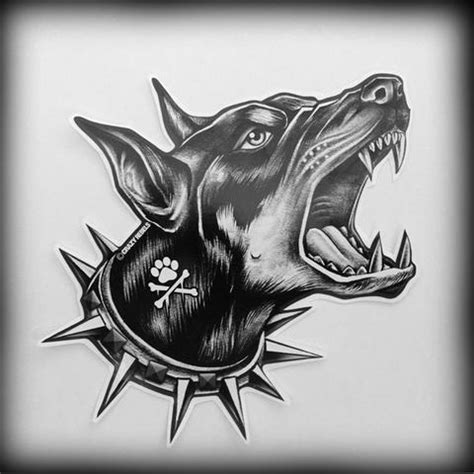 doberman tattoo designs 35 amazing doberman designs