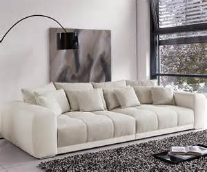 big big sofa big sofa valeska 310x135 cm grau beige mit 12 kissen m 246 bel