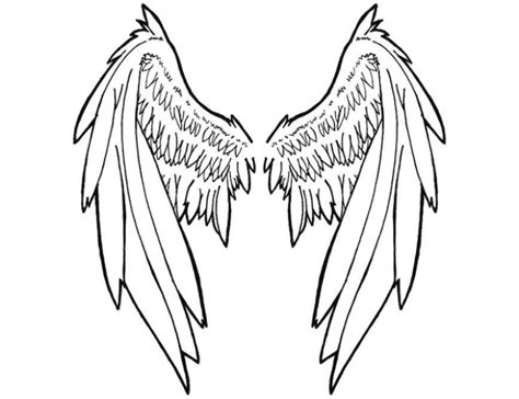 tattoo farfalla ali chiuse large tribal angel wing tattoo wing s pinterest dessin