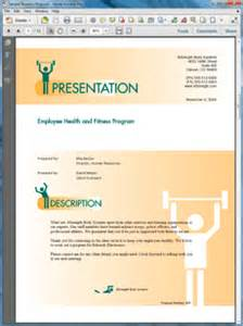 Wellness Program Template by Health And Fitness Program Sle