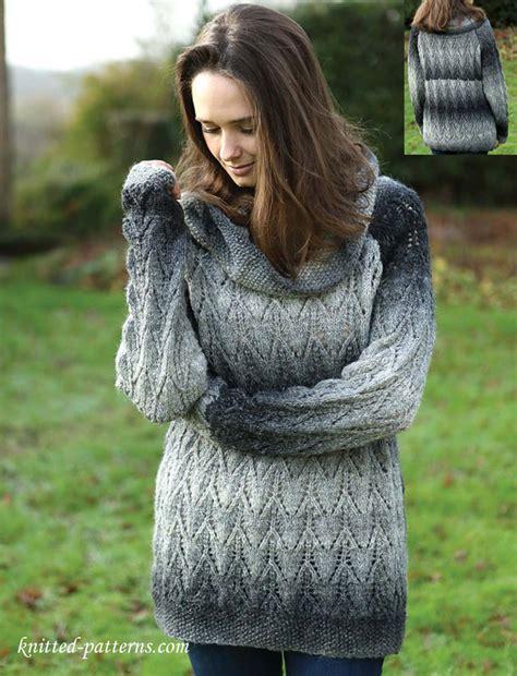 lace jumper knitting pattern lace raglan sweater knitting pattern free