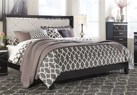 Fancee Bedroom Set by Furniture Fancee Upholstered Panel Bed