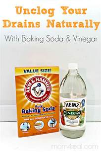 baking soda for cleaning bathtub drain cleaner how to clean a drain with vinegar