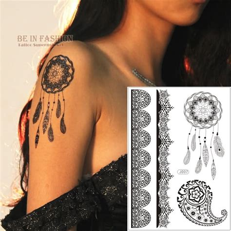 37 graceful dream catcher shoulder tattoos