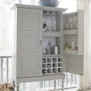 paula deen bar cabinet in cobblestone