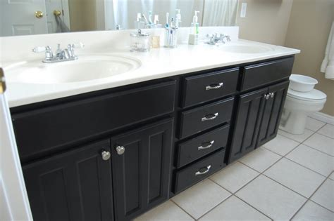 steps to painting a bathroom how to paint bathroom cabinets black myminimalist co
