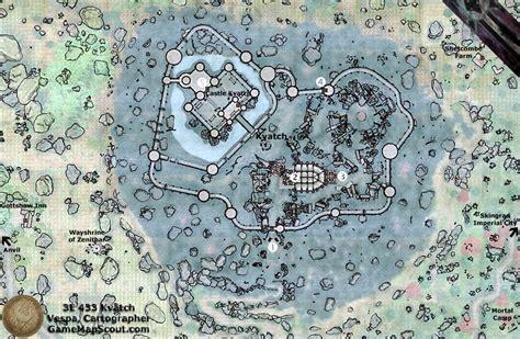 oblivion map oblivion map of kvatch guide to kvatch