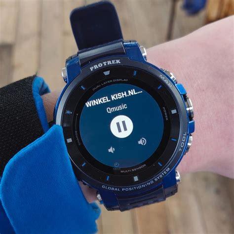 casio wsd  bk pro trek smartwatch kishnl