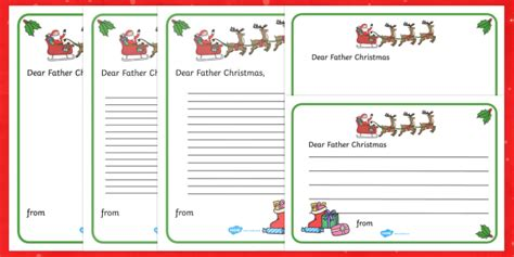 letter to santa template twinkl letter to father christmas writing template christmas