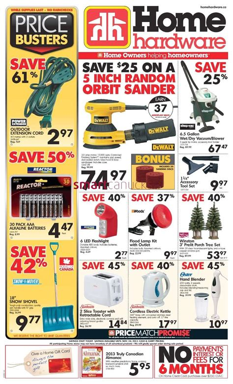 home hardware flyer nov 14 to 24
