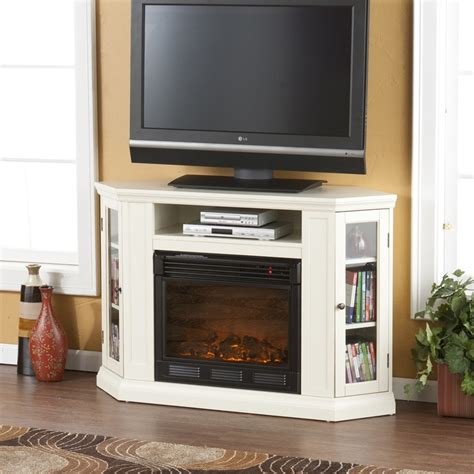 Tv Corner Fireplace by Best 25 Corner Fireplace Tv Stand Ideas On
