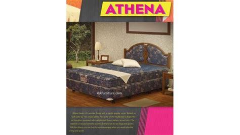 Bed Bigland Deluxe jual bed central deluxe sandaran athena sale