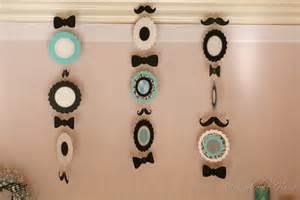 mustache decor snob s day mustache themed