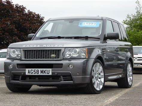 how to sell used cars 2008 land rover freelander transmission control used 2008 land rover range rover sport 3 6 td v8 hst 5dr for sale in west yorkshire pistonheads