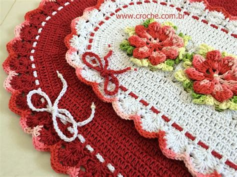 croche oval bico duplo tapete com flores jogo de banheiro croche oval tapete oval bico duplo passo a passo parte 3 croche com br