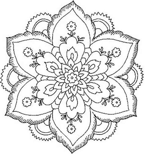 mandala coloring pages lotus lotus flower mandala drawing images pinteres