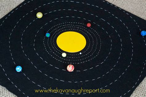 building solar system the kavanaugh report diy solar system map with free printables