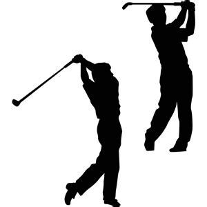golf swing silhouette silhouette design store view design 11117 golfers