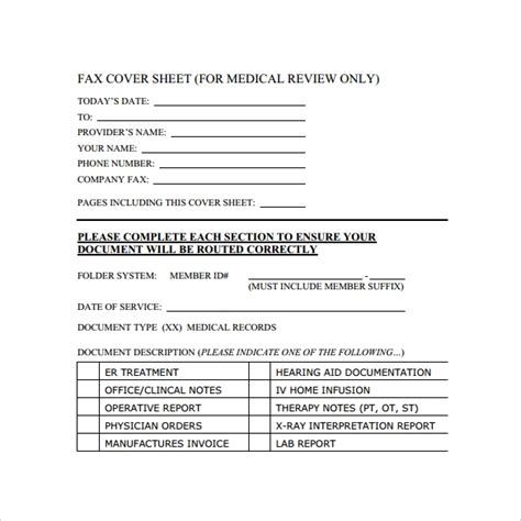 sample cute fax cover sheet template   documents