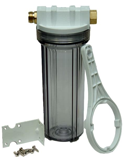 boat water line cleaner clear inline hose filter canister and accessories