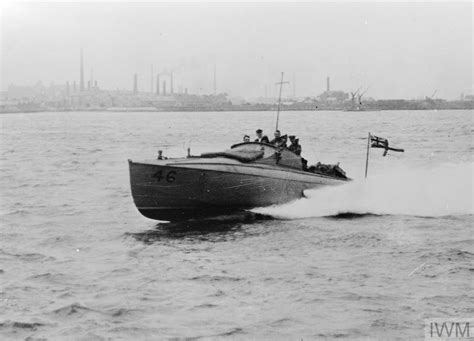 first motor boat ministry of information first world war official
