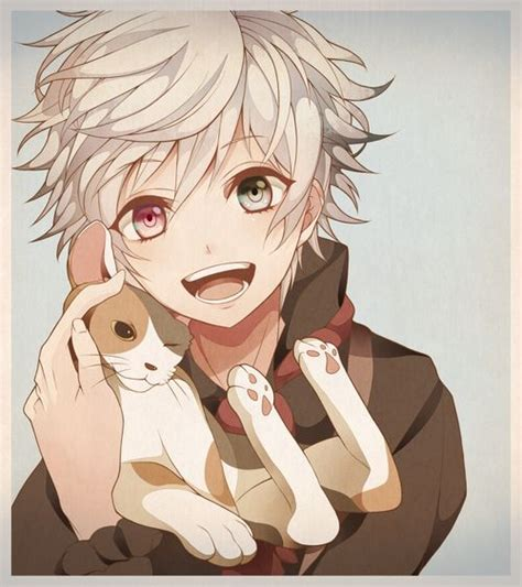 cute anime boy with white hair 123 best images about anime boys on pinterest anime guys