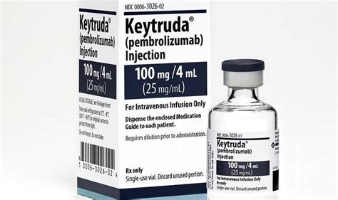 Pembrolizumab Also Search For Merck S Keytruda Imported Approved For Use A Pilot Program On The