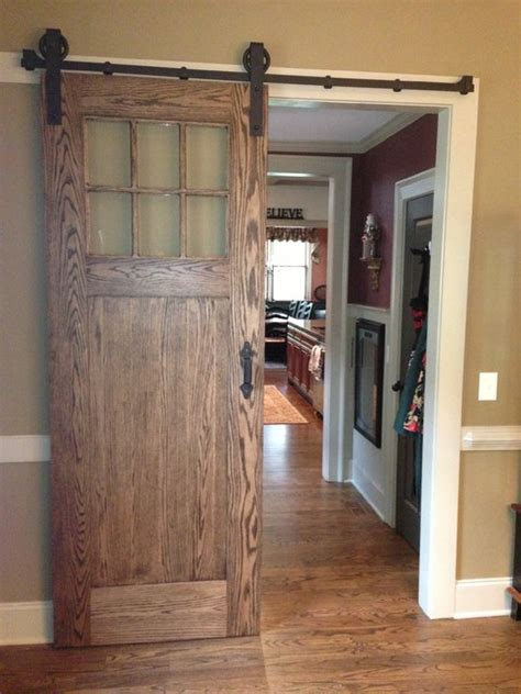 Barn Door Styles Inerior Barn Door Style Sliding Doors Traditional Atlanta By True Carpentry And Cabinetry