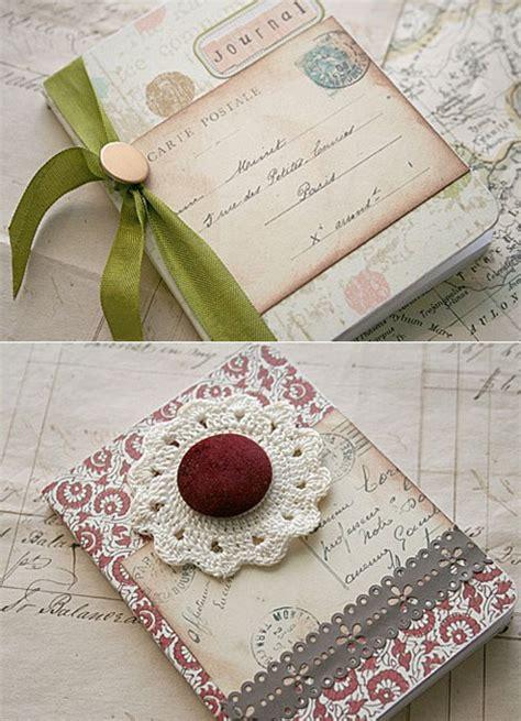 Vintage Handmade - handmade vintage mini notebook lushlee