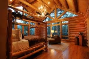 Log Cabin Bedroom Log Cabin Bedroom Bedrooms Pinterest