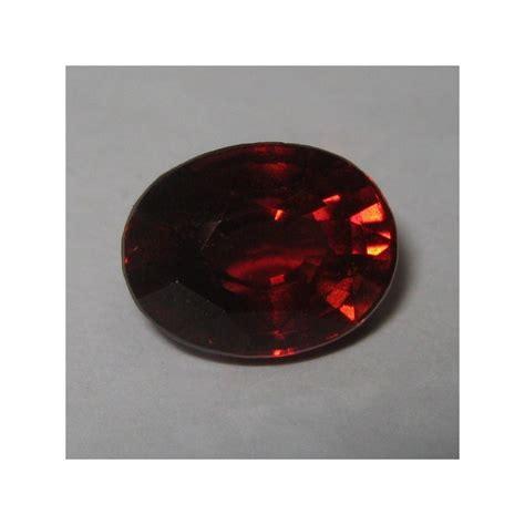 Cincin Almandite Garnet jual batu garnet alami 2 43 carat luster merah berkerlip indah