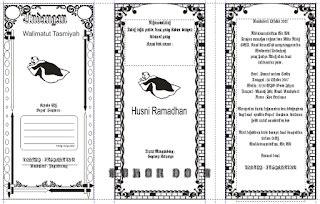 Raffa 03 Blangko Undangan Nikah Khitan Murah undangan tasyakuran corel harga undangan tas kipas unik murah bekasi