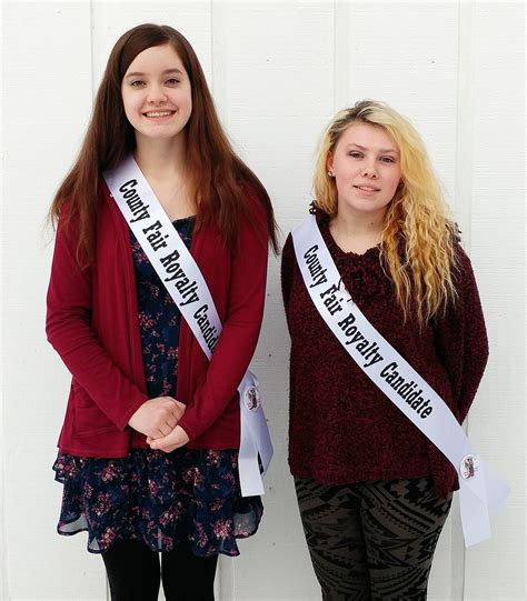 Clallam County Court Search Two Peninsula Youths Vying For Clallam County Fair Title Peninsula Daily News