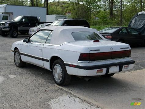 chrysler lebaron chrysler lebaron review and photos