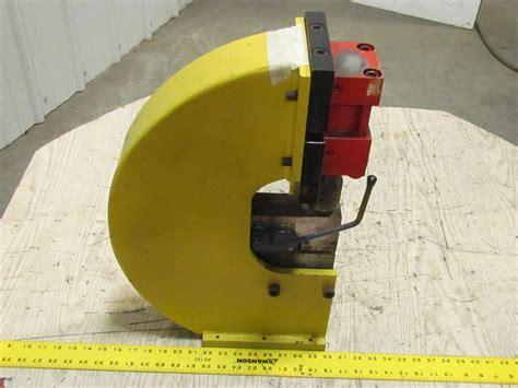 bench top punch press custom bench mount hydraulic punch press aluminum 19 ga x