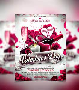 Valentines Flyer Templates Free by 45 Flyer Templates For Next Day