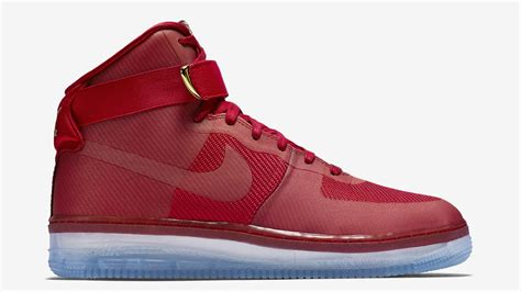 are nike air force 1 comfortable nike air force 1 high cmft lux university red sneaker